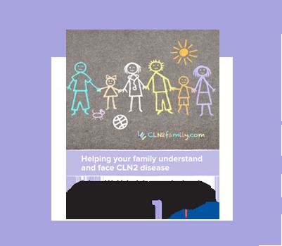 Image of CLN2 disease education brochure